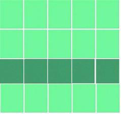 zelená kombinace v koupelně mi byla zatržena :(