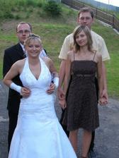 kámoška zo strednej- Majka s manželom Milkom