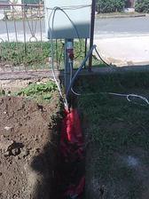 pripojenie elektriny od rozvodne do domu