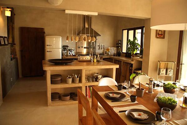 Drevo a biela v kuchyni - Obrázok č. 51