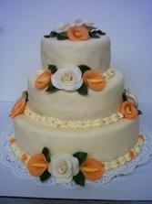 svatební dort č.6