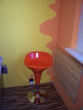 barofka a sklopený stolík