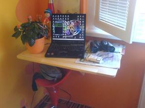 rozložený stolík :-)