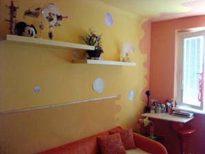 žltá stena