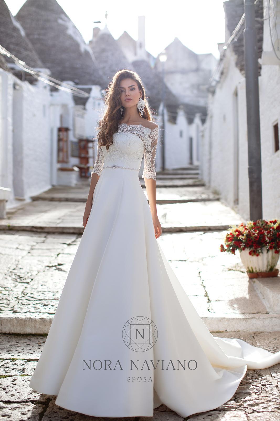 Svadobné šaty Nora Naviano 2020 - Obrázok č. 2
