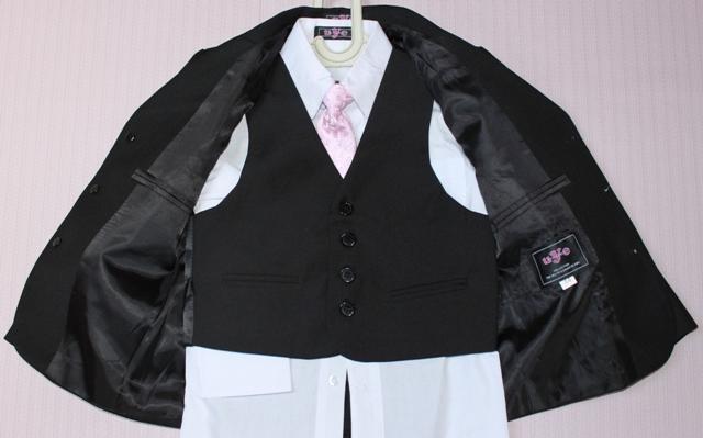 Trojdielny chlapčenský oblek - Obrázok č. 2
