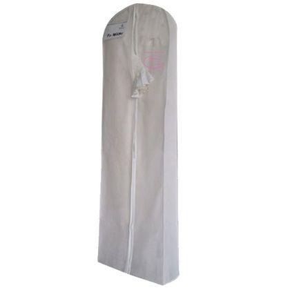 Kvalitný obal na svadobné šaty s klinom 185x60x20  - Obrázok č. 1