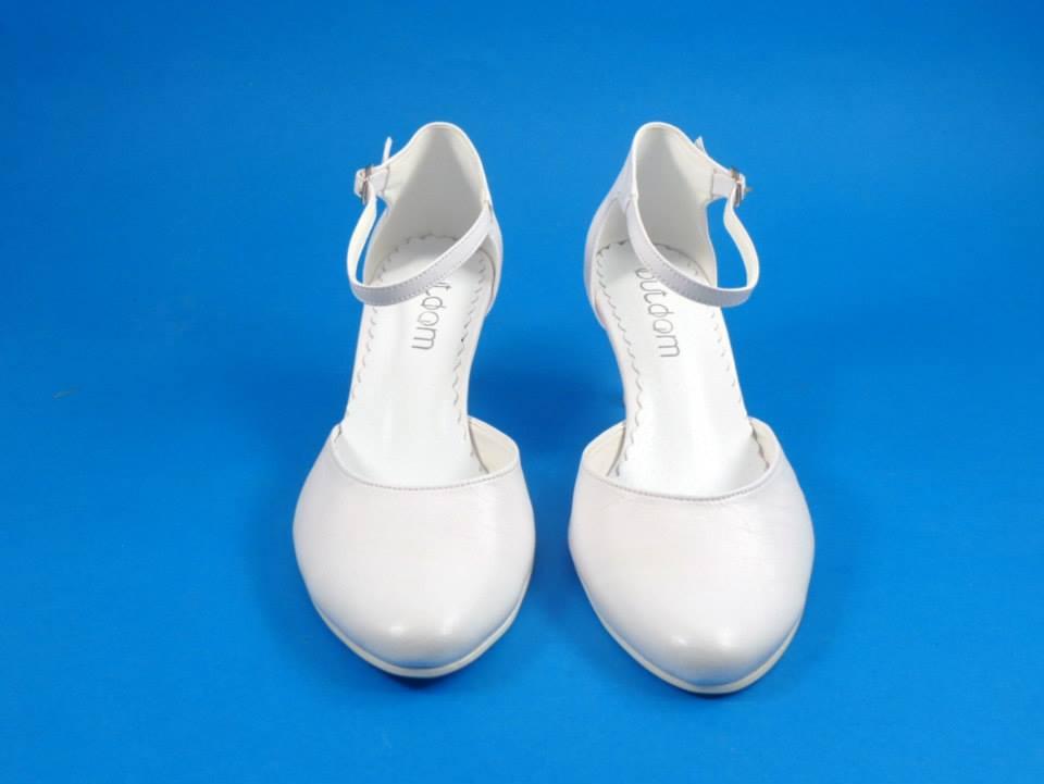 Svadobné topánky Laura, veľ. 34 - 41, i krémové - Obrázok č. 2