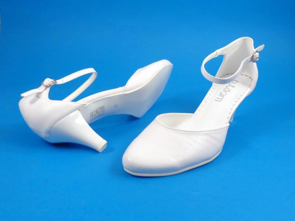 Svadobné topánky Laura, veľ. 34 - 41, i krémové - Obrázok č. 4