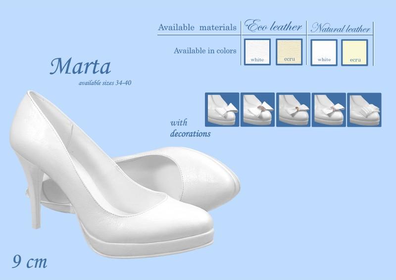Svadobné lodičky Marta - veľ. od 34 do 40 - Obrázok č. 1