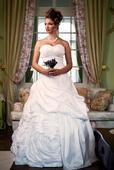 Svadobné šaty Adriana - jediný kus vo výpredaji, 46
