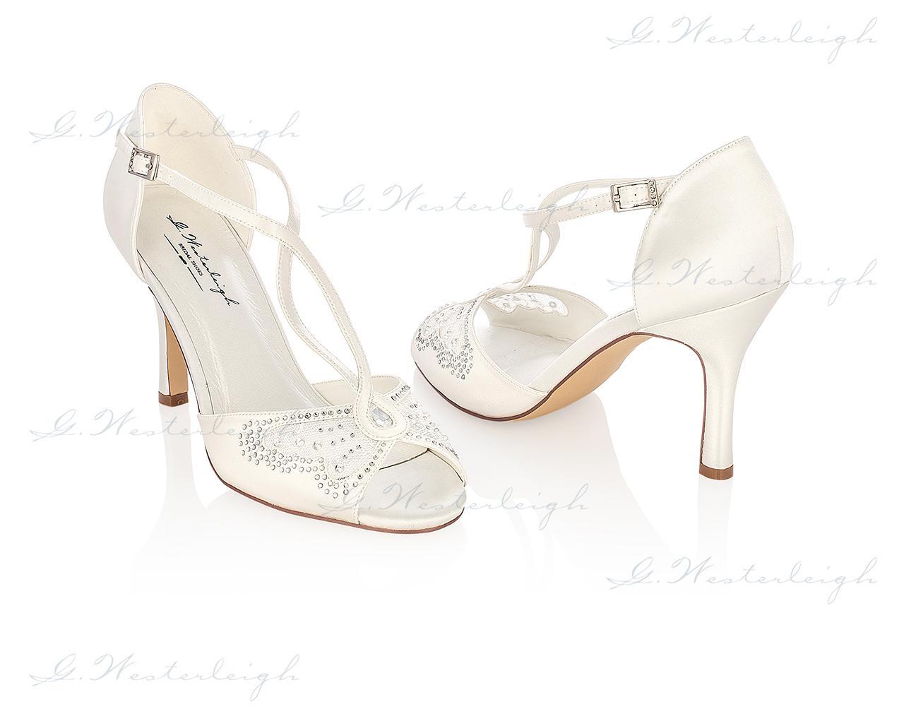 Svadobné topánky Adriana, G.Westerleigh veľ. 35-41 - Obrázok č. 1