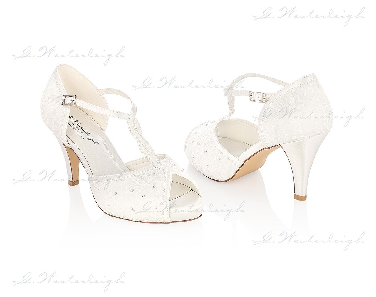 Svadobné topánky Betty, G. Westerleigh veľ. 35-41 - Obrázok č. 1