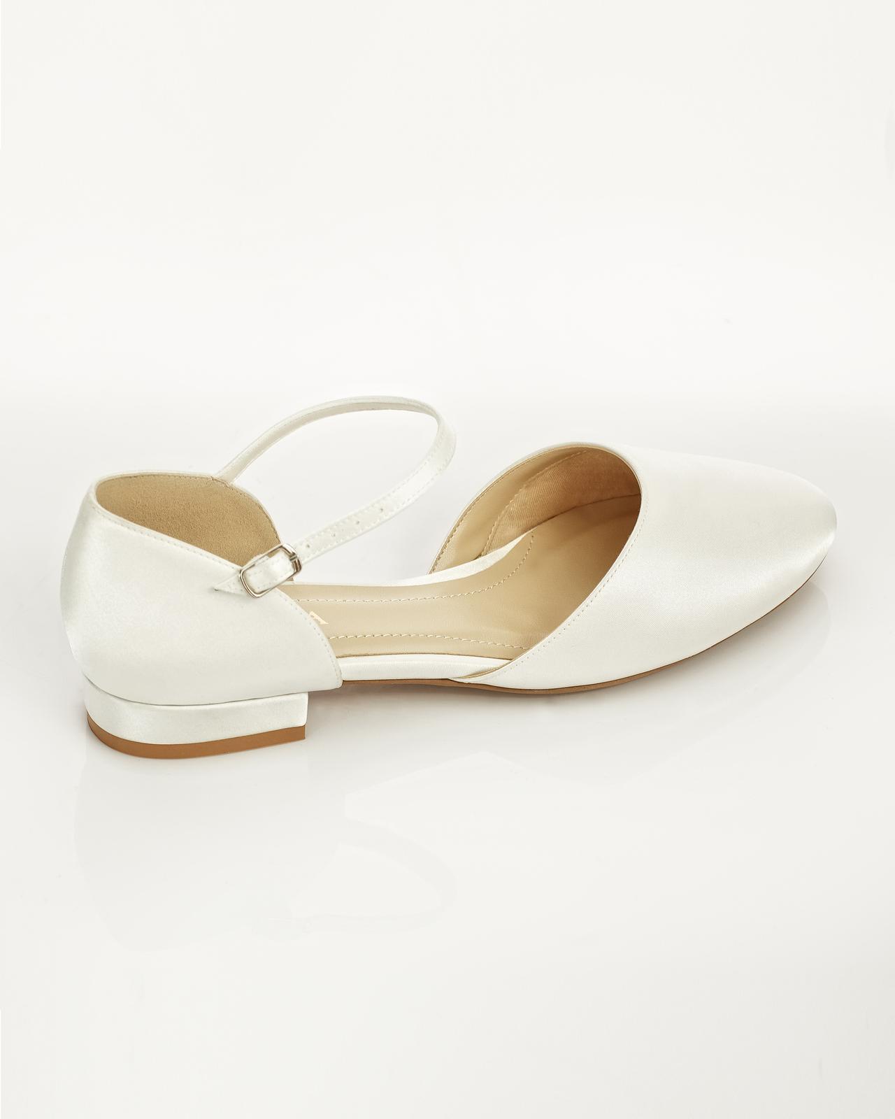 Svadobné balerínky Sissi veľ. 36 až 41 - Obrázok č. 3