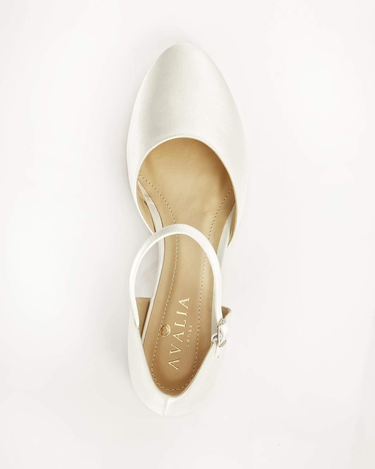 Svadobné balerínky Sissi veľ. 36 až 41 - Obrázok č. 2
