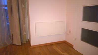 Nainstalovany konvektor v zadveri spalne - 1000W.