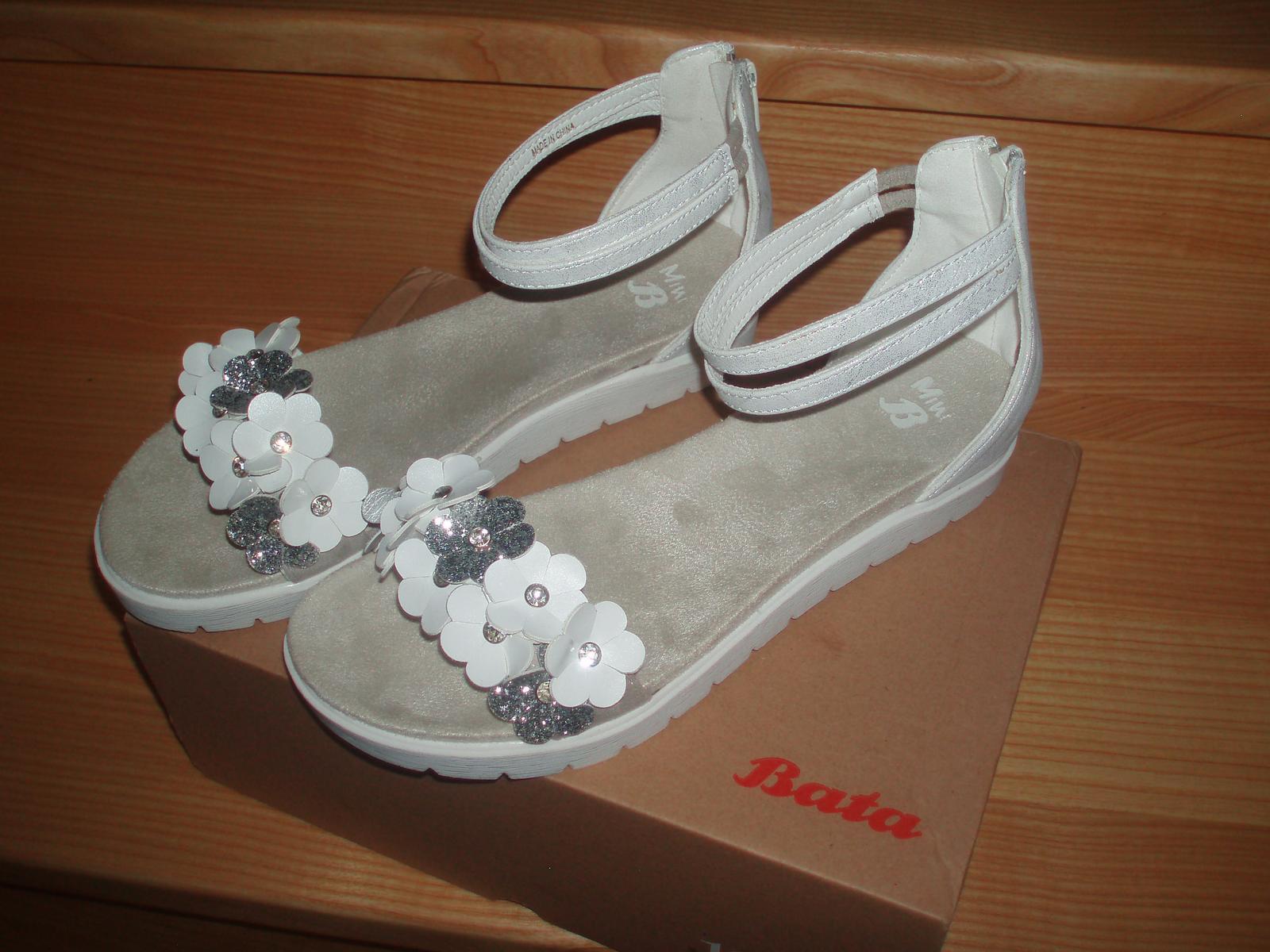 Sandálky, střevíčky vel. 38 - Obrázek č. 1