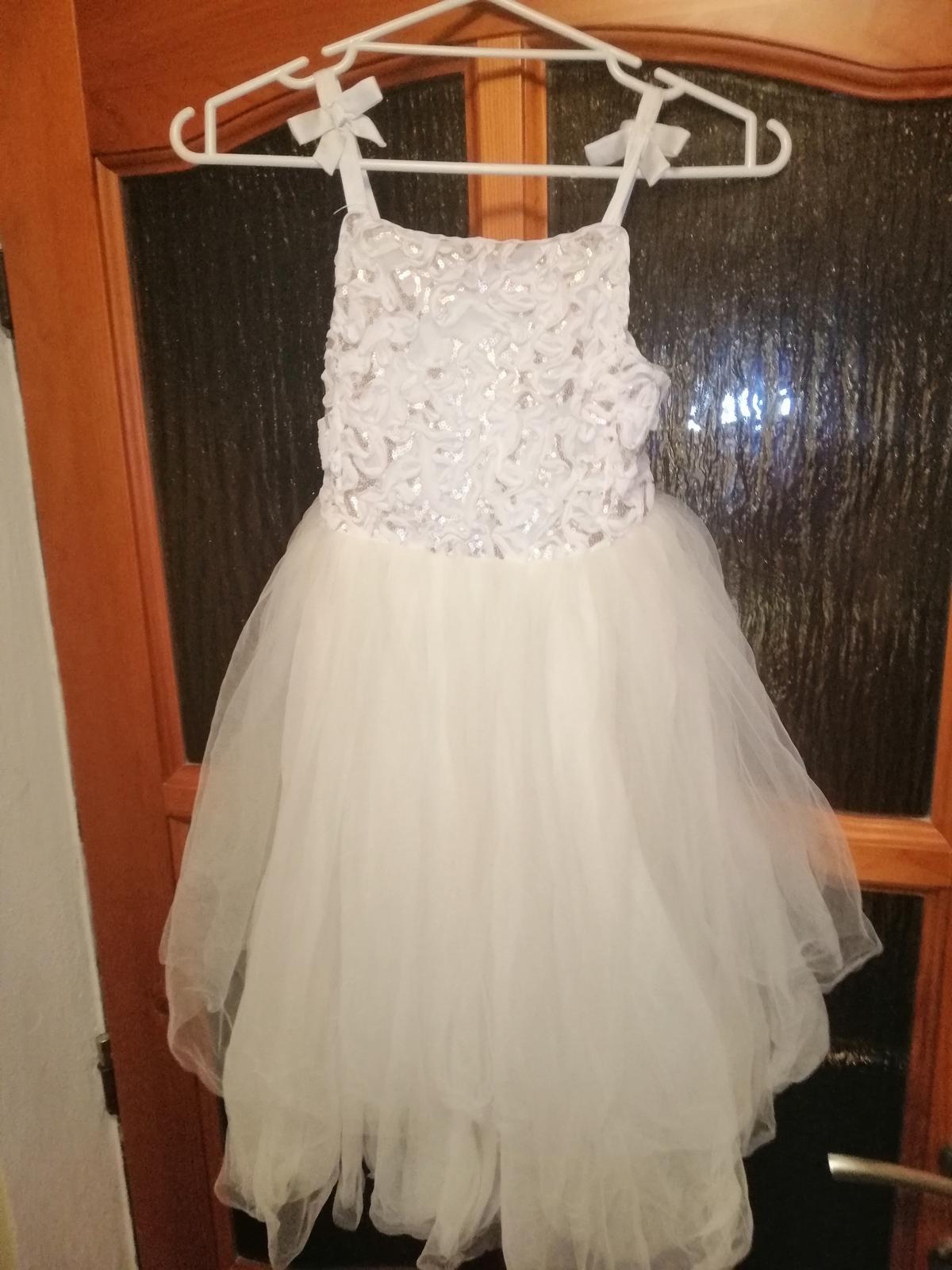 Šaty pro družičku vel. 134 H&M - Obrázek č. 1