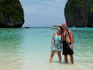 Svatební cesta Thajsko březen 2012 -Maya Bay