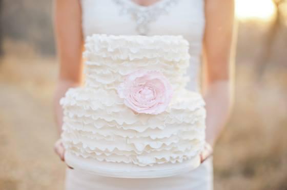 Co máme na naši svatbičku - Domluvený styl dortíku