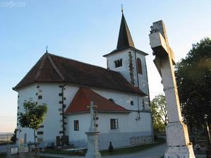 Kostel sv. Michaela - Vísky