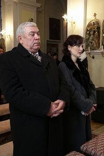 Marienka{{_AND_}}Ondrík Koporcovci - nasi svedkovia, manzelov krsny, a moja sestricka