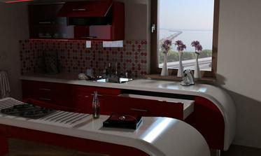 vizualizacia kuchyne.. milenium 229