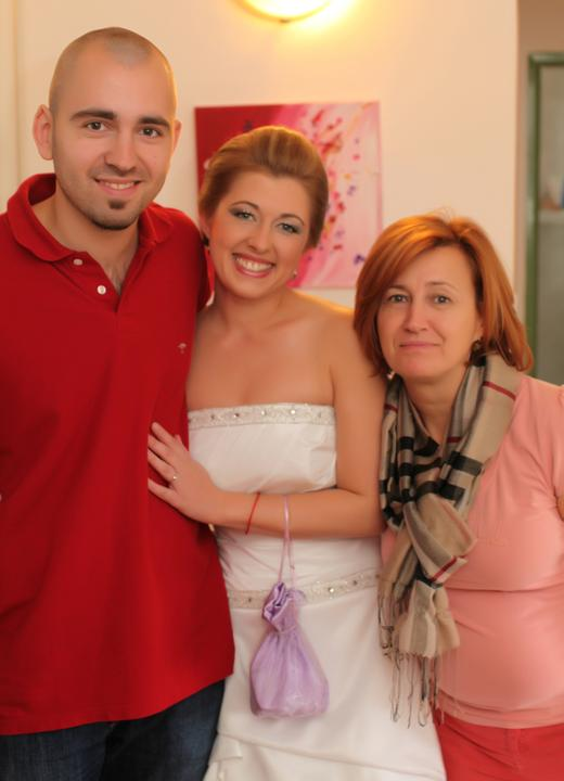 Peťka{{_AND_}}Paľko - bráška, ja a mamina