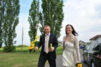Se svědkyní ženicha - Leničkou