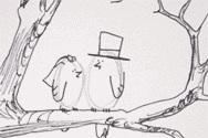 Inspirace - Na svatební strom :)