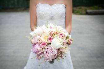 Moje svatební kytka