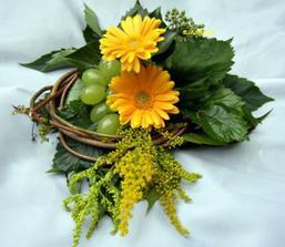 další velice zajímavá květina na svatební stůl