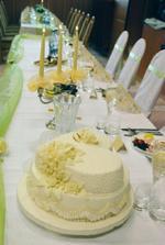 svadobná tortička bola nad očakávania
