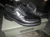 Pánské kožené boty Claudio Conti, vel.41, 42