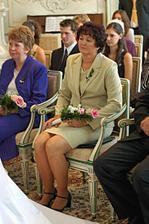 Má maminka při obřadu