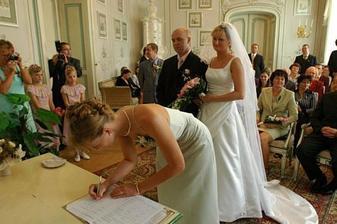 Podpis mé sestry - svědek