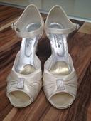 Svadobné sandálky, 37