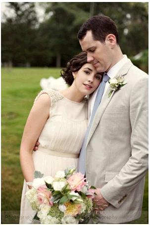 Inspirace - Svatební šaty - ... něžnost