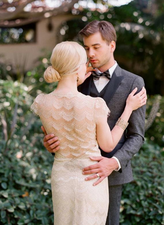 Inspirace - Svatební šaty - ... romance
