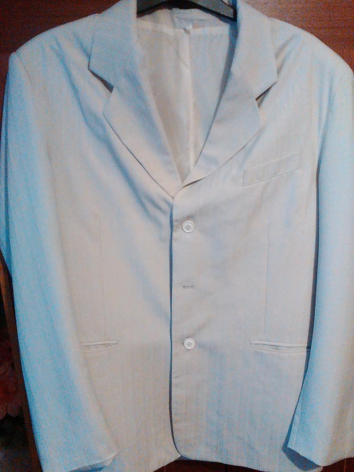 Komplet oblek svadobny alebo spolocensky - Obrázok č. 3