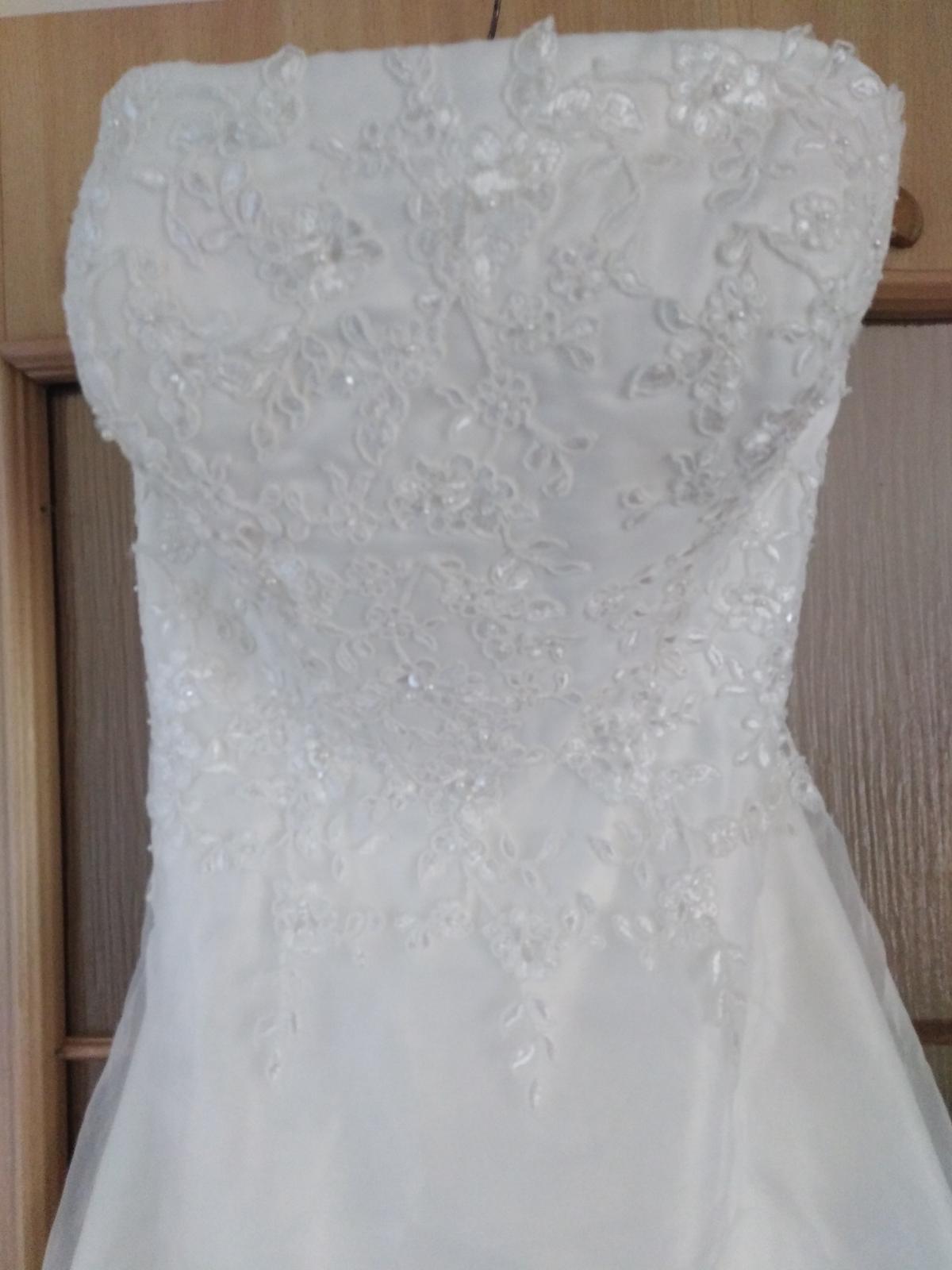 Krátke svadobné /po polnočné šaty  - Obrázok č. 1
