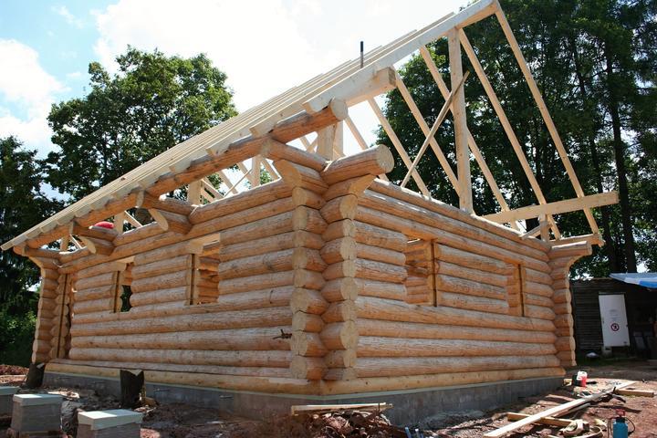 Stavba srubu - Obrázek č. 42