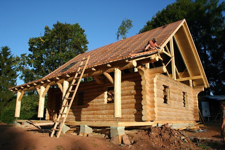 Stavba srubu - Obrázek č. 56