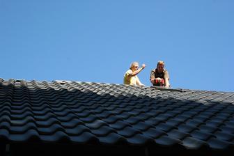 Doděláváme střechu