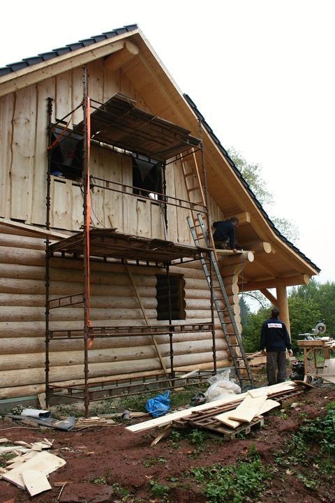Stavba srubu - Obrázek č. 84