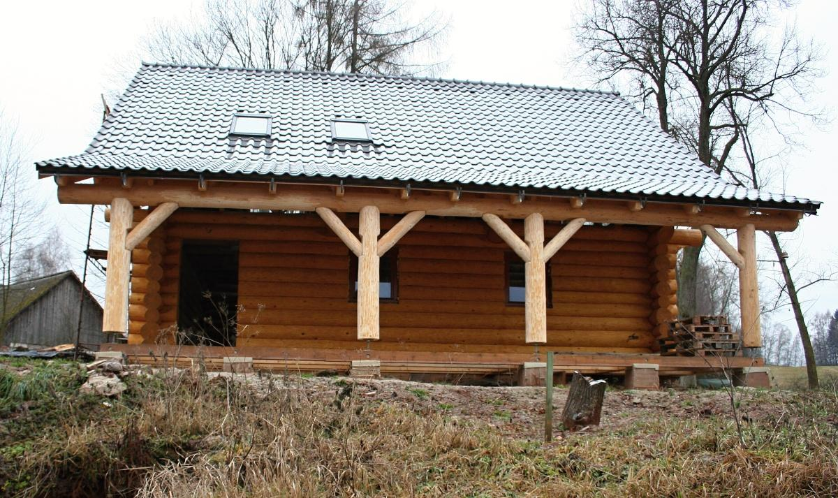Stavba srubu - Obrázek č. 100