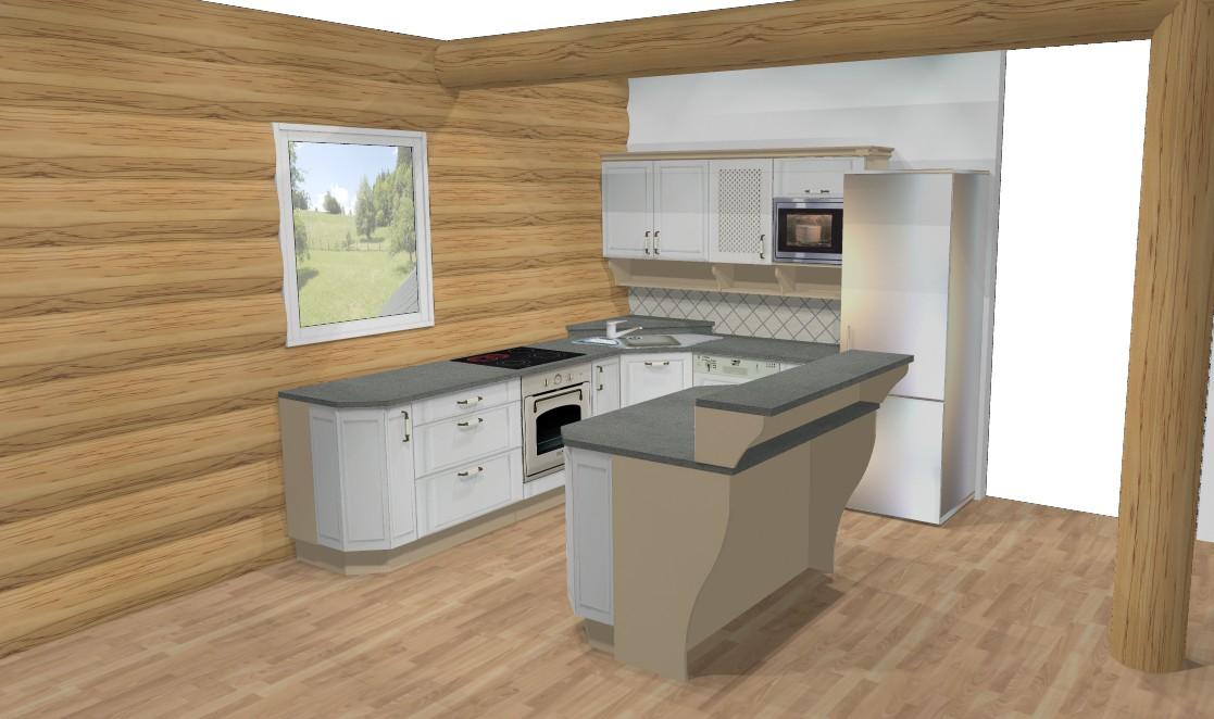 Kuchyně - Takže zhruba takhle to bude :)