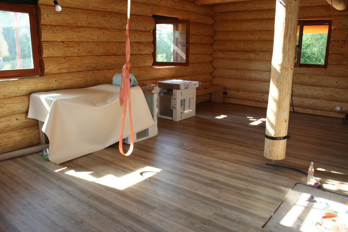 Vnitřní práce - Podlaha hotová