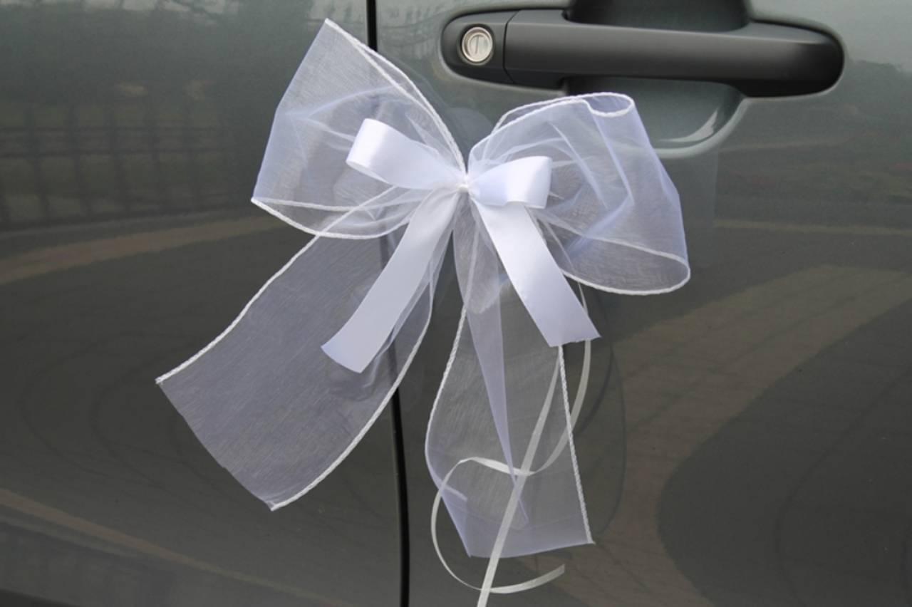 mašle na svadobné auto - Obrázok č. 1