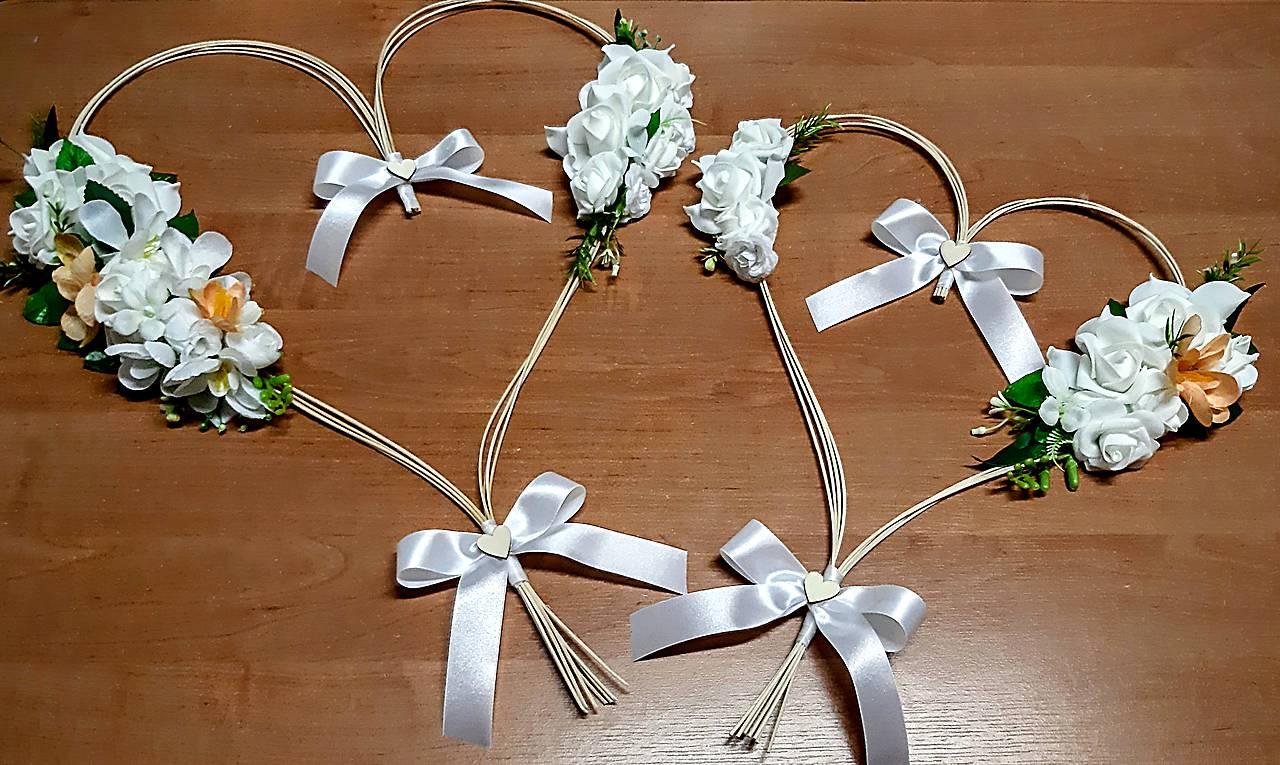 srdcia na svadobné auto - Obrázok č. 1